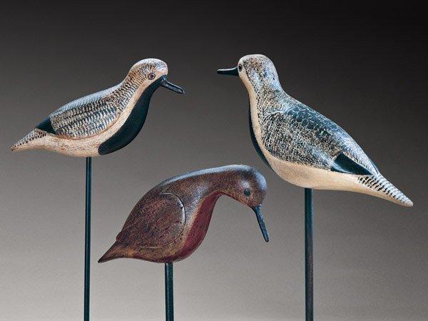 Verity Shorebird Trio by Robert Shaw