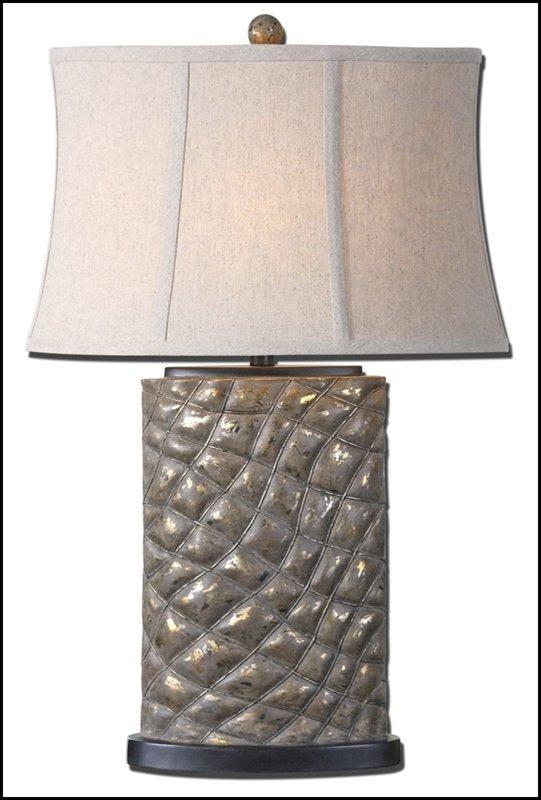 ARMANDO GRAY TABLE LAMP
