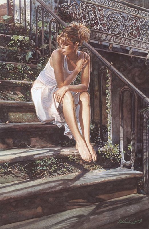 CONTEMPLATING THE NECESSARY STEPS - STEVE HANKS