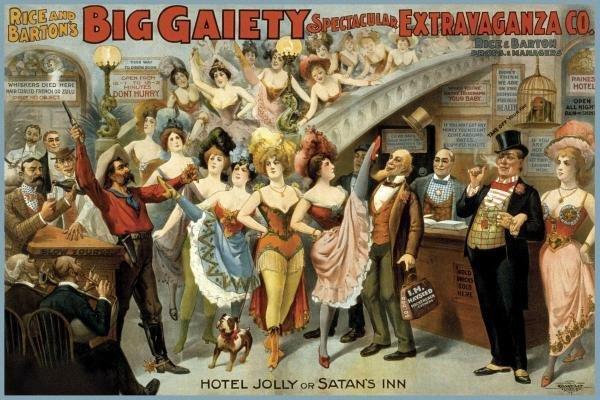 COURIER LITHO COMPANY - HOTEL JOLLY OR SATAN'S INN,