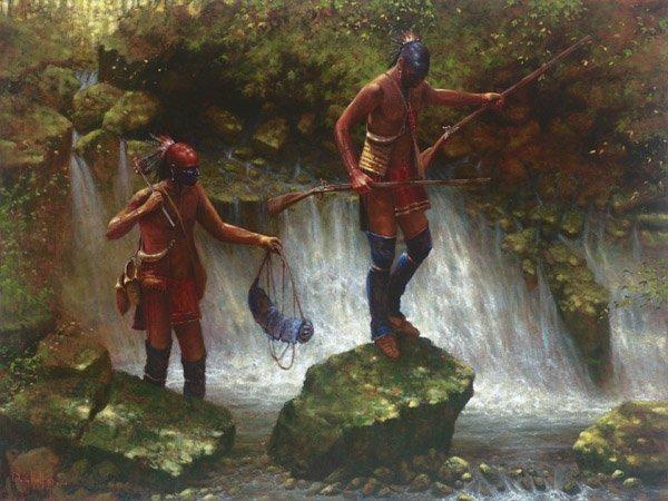 Slippery Rock Falls by Doug Hall