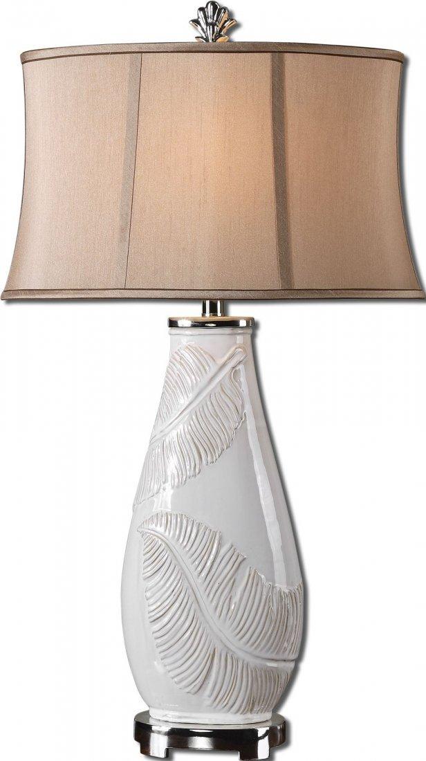 LORIDA WHITE TABLE LAMP