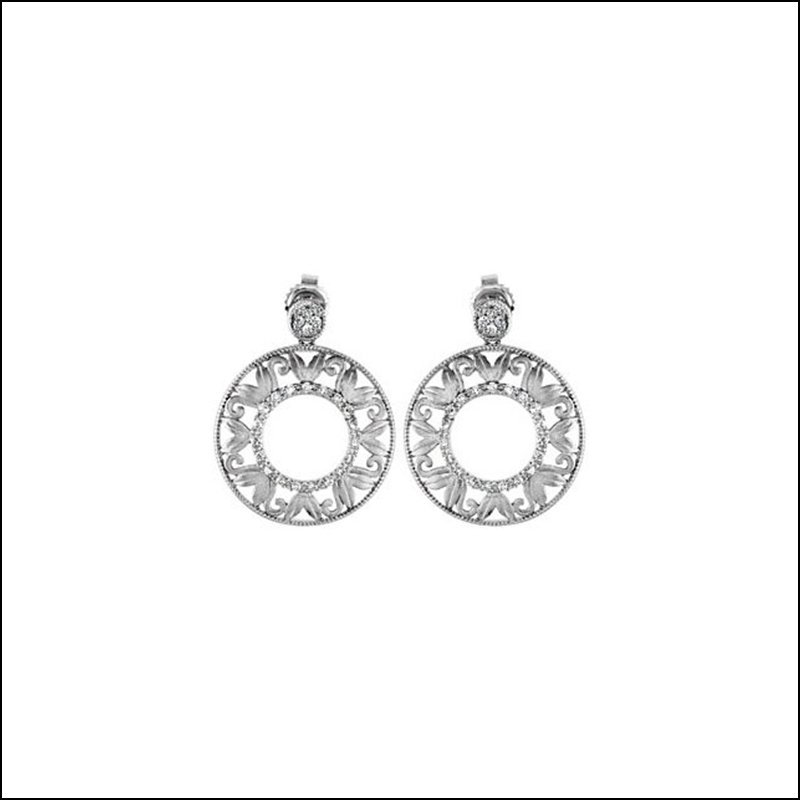 1/5 CT TW DIAMOND EARRINGS