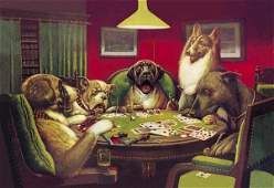 C.M. COOLIDGE - POKER DOGS: STUN, SHOCK AND THE WIN,