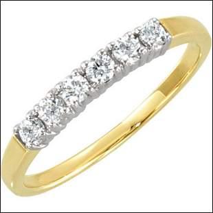 1/4 CT TW DIAMOND ANNIVERSARY BAND
