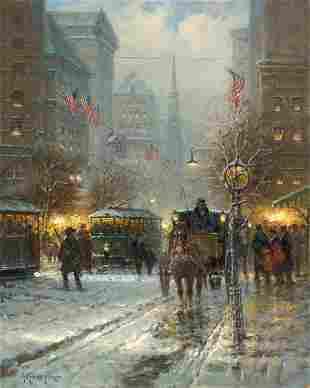 Music of Manhattan by G. Harvey