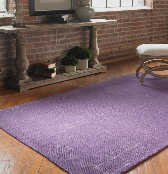 ZELL 5 X 8 RUG - PURPLE