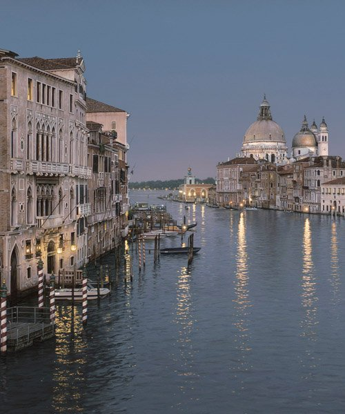GRAND CANAL EVENING BY ROD CHASE
