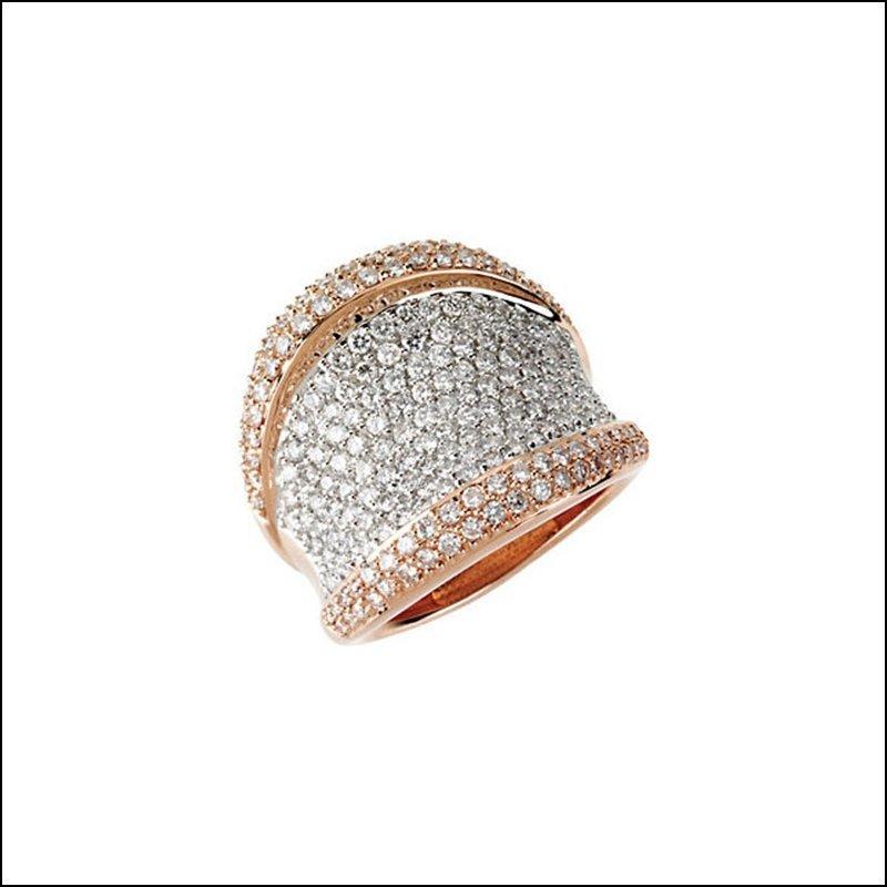 2 1/4 CT TW DIAMOND RING
