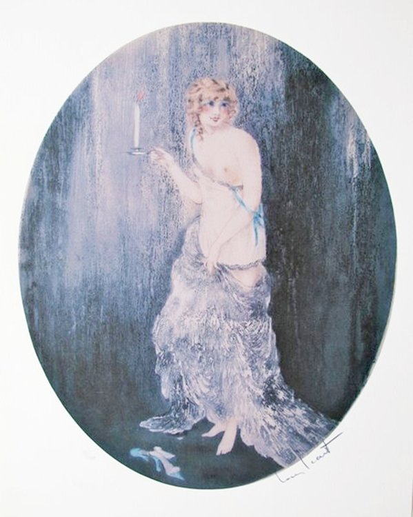 LOUIS ICART BEDTIME LIMITED ED. GICLEE