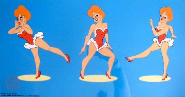 RED HOT LADY LOU TEX AVERY LIMITED EDITION ANIMATION