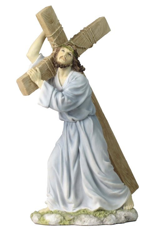 JESUS ON THE WAY TO CALVARY (LIGHT COLOR)