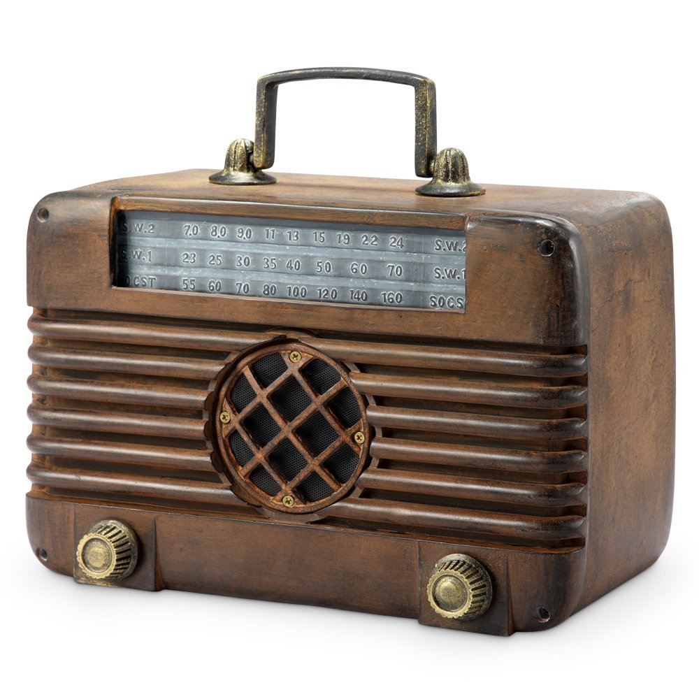 OLD TIME RADIO WITH BT SPEAKER