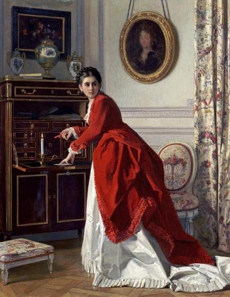 CHARLES BAUGNIET - THE LETTER