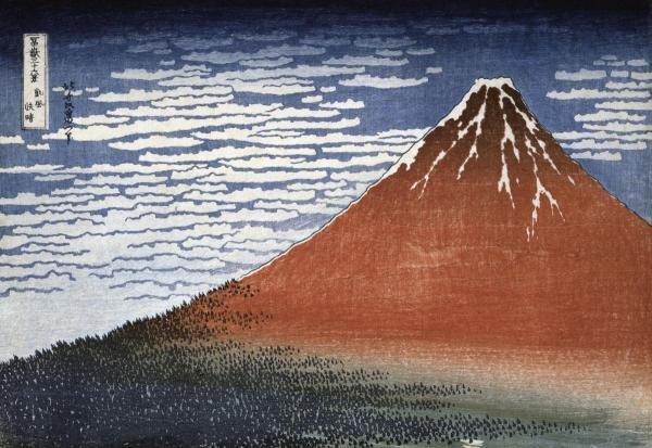 HOKUSAI - FUJI IN CLEAR WEATHER