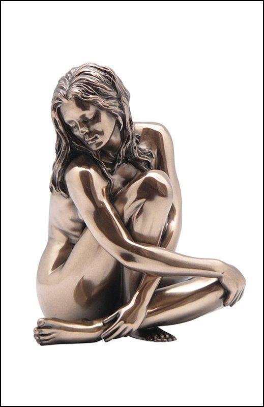 NUDE FEMALE - COLD-CAST BRONZE