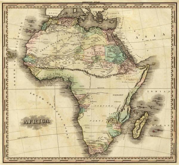 HENRY S. TANNER - AFRICA, 1823