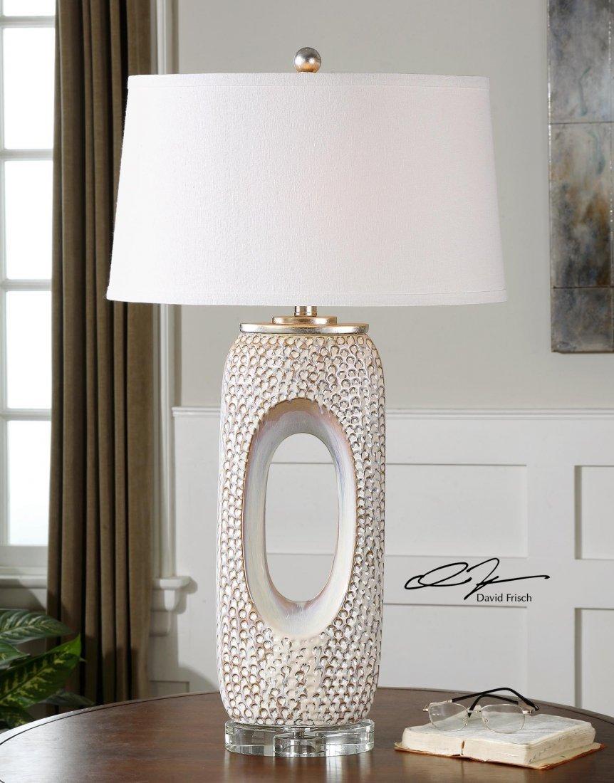 CARBONADO IVORY LAMP
