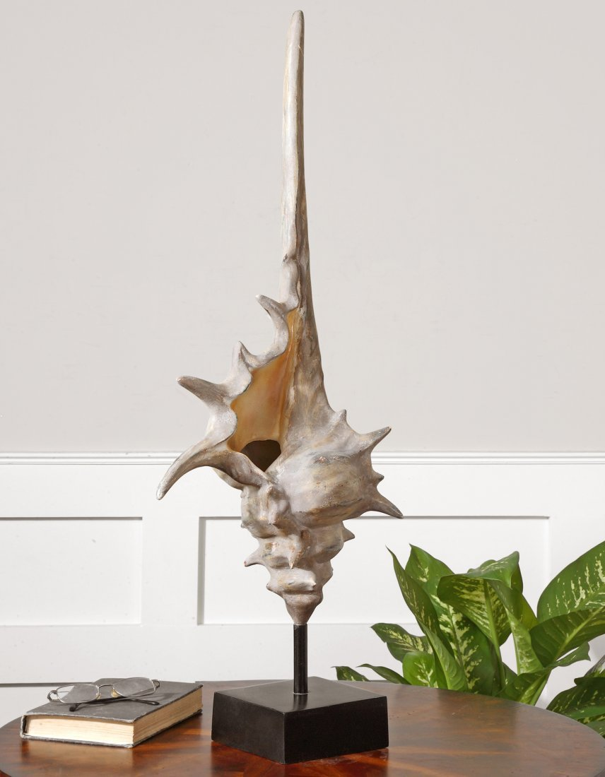 CONCH SHELL LARGE FIGURINE