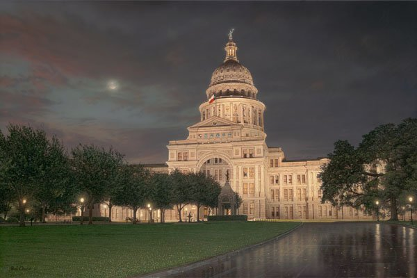 Texas Capitol by Rod Chase