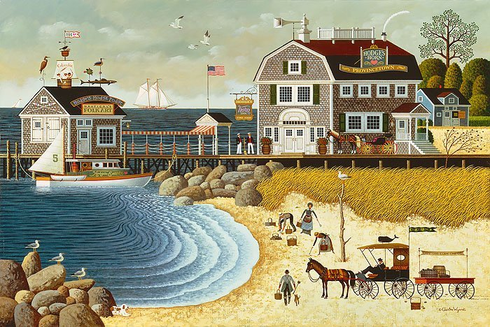 CHARLES WYSOCKI - CLAMMERS AT HODGE´S HORN