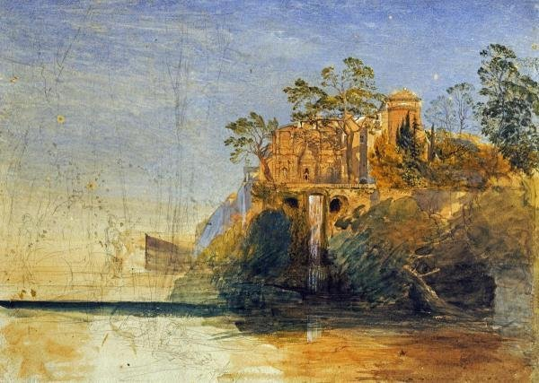 SAMUEL PALMER - THE WATER-ORGAN, TIVOLI