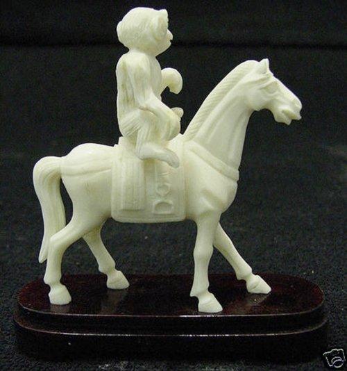 BONE MONKEY RIDING HORSE - 2