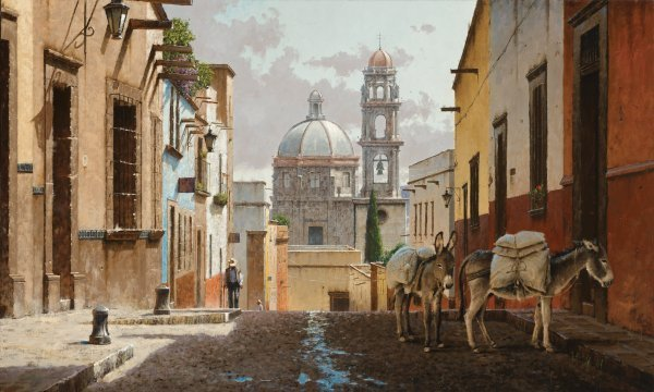 Buenos Dias San Miguel by George Hallmark