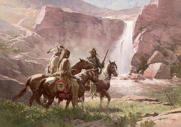 Z.S. LIANG - RED ROCK CROSSING, NORTHWEST MONTANA, 1850