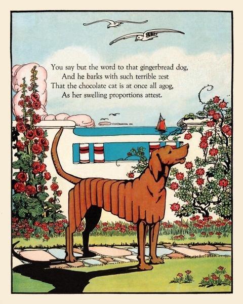 EUGENE FIELD - GINGERBREAD DOG