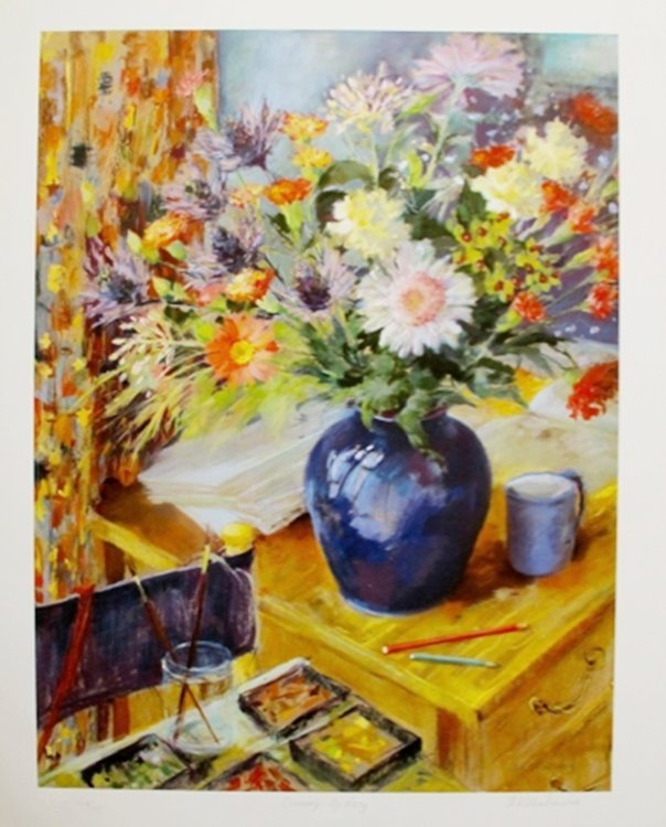 """NEL WHATMORE """"COMING UP ROSY"""" HAND SIGNED LIMITED"""