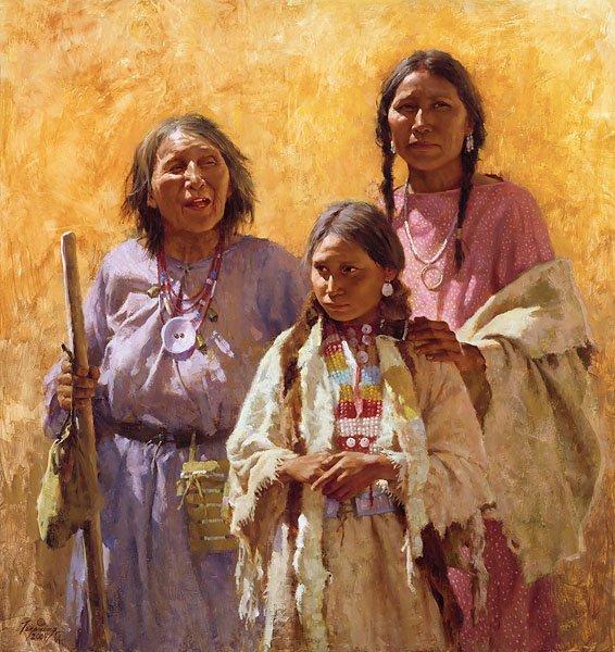 HOWARD TERPNING - THREE GENERATIONS