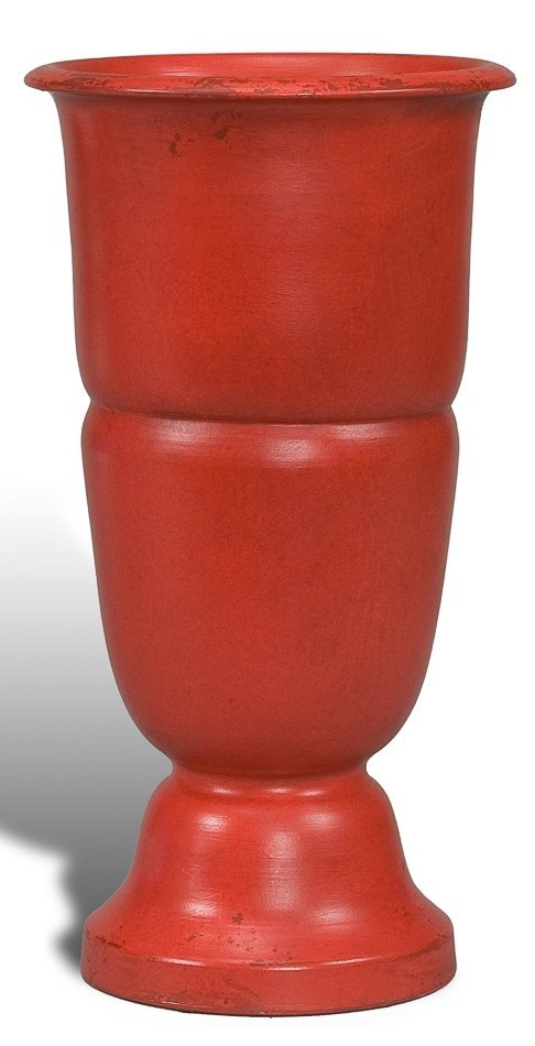 Reggello Ceramic Trophy Vase Simply Red
