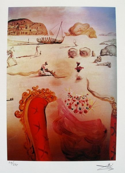 Salvador Dali Paranoia Facsimile Signed & Numbered