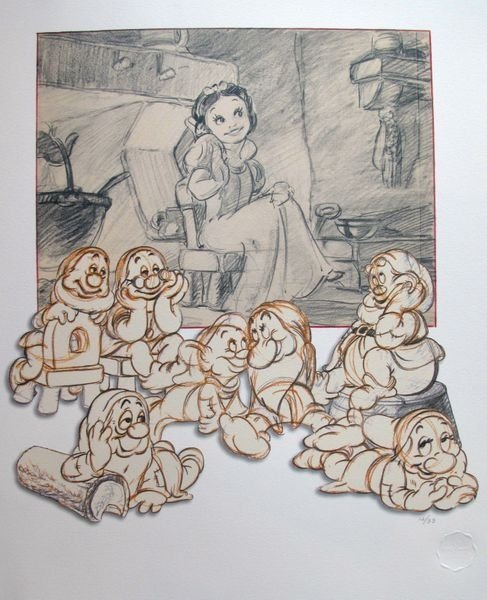 Disney Snow White And The Seven Dwarfs Limited Edition