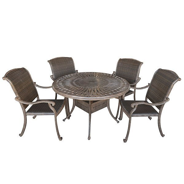 Palladio 5pc Dining Set