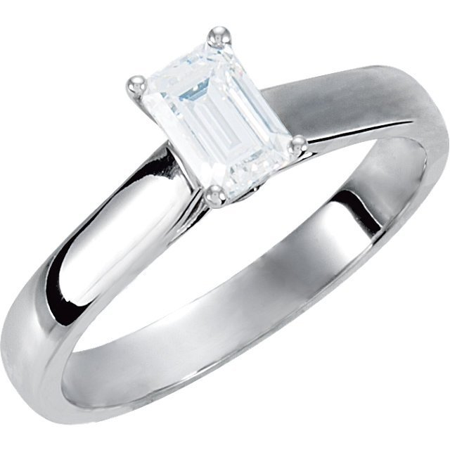Continuum Silver .05 CTW Diamond Engagement Ring with
