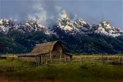 Moulton Barn, Jackson Hole Valley by Bruce Cheever
