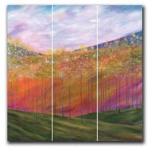 Mary Johnston - Distant Hills 12x36