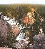 The Brink, Yellowstone Canyon by Bruce Cheever
