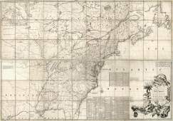 John Mitchell - Map Of The British And French Dominions