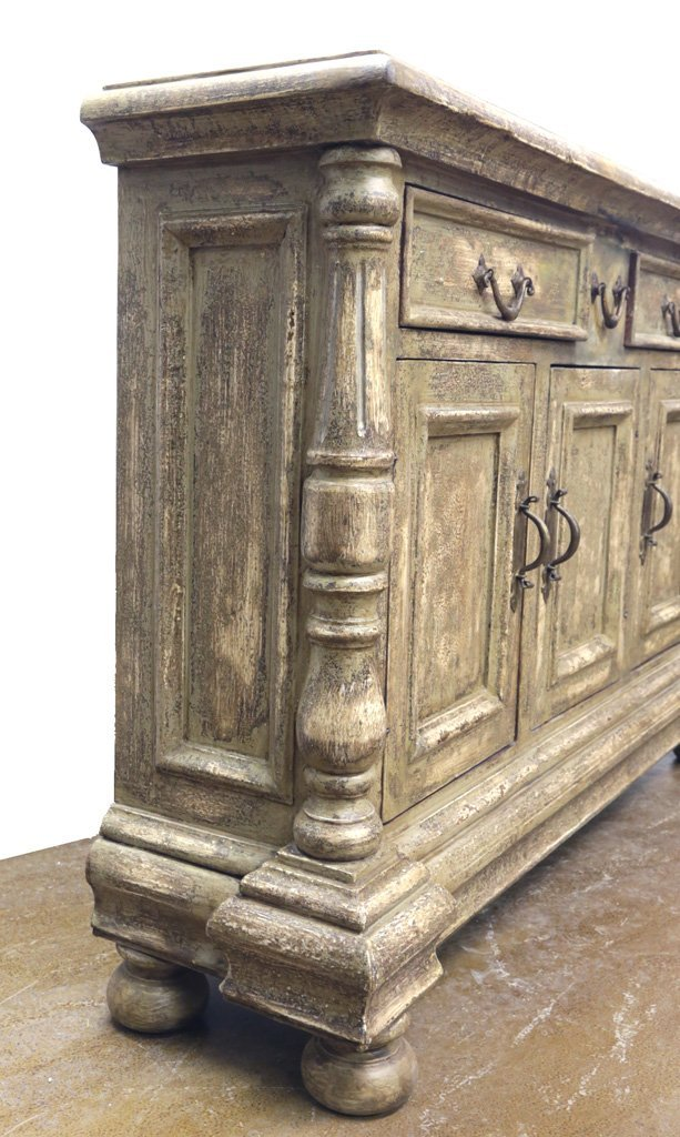 HAND PAINTED  CREDENZA - 2