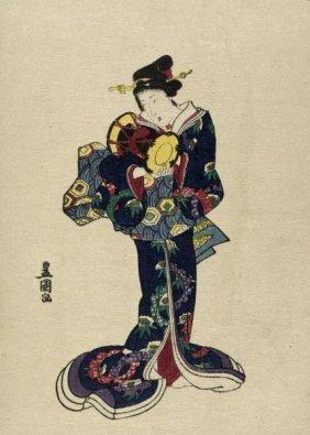 Utagawa Toyokuni - Kotsuzumi