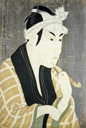 Toshusai Sharaku - Matsumobo Koshiro Iv