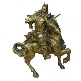 Chinese Warrior On Horse