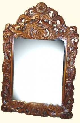 Hand Carved Solid Wood Frame French Style Dressing