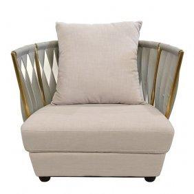 Milan Rose Gold Chair