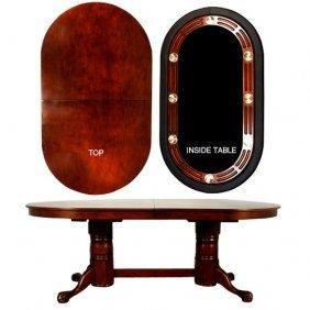 Maverick Oval Game Table