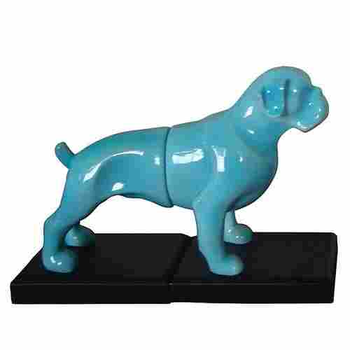 Blue Dog Bookends