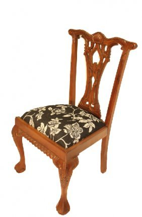 Shell Back Chippendale Side Chair